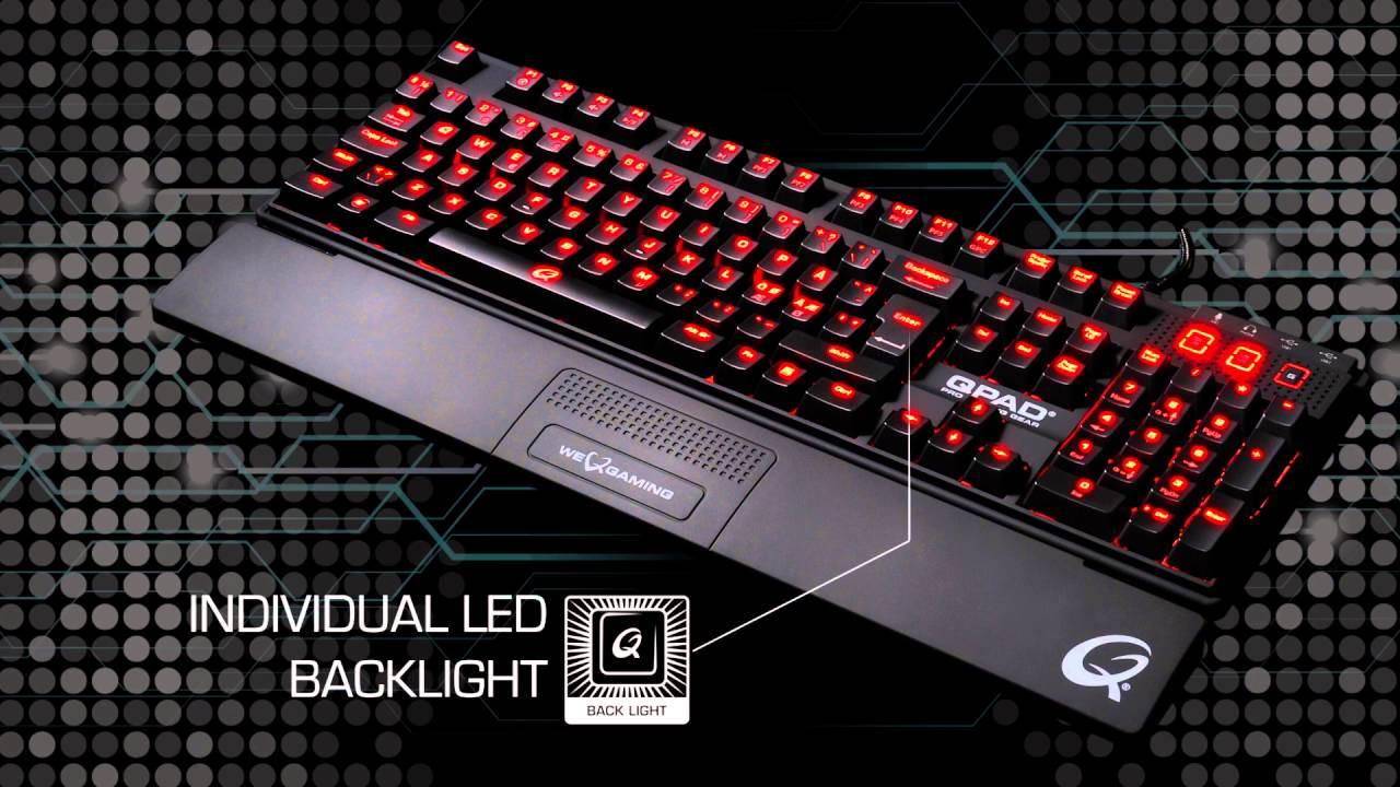 QPAD MK 85 Pro Gaming Tastatur Komplett.no