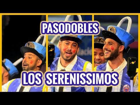 Todos los PASODOBLES, Chirigota LOS SERENISSIMOS | Tercer Premio Carnaval de Cádiz 2016