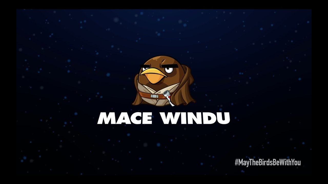 Angry Birds Star Wars 2 Mace Windu Angry Birds Star Wars 2