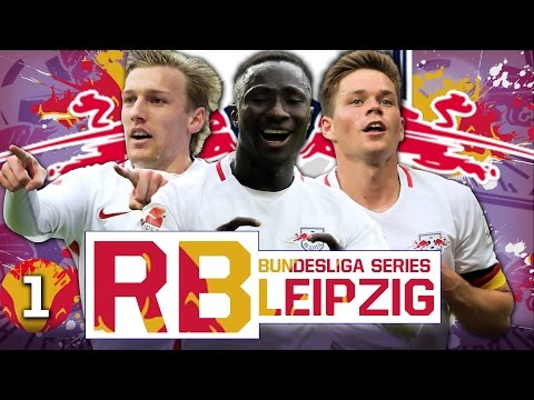 FIFA 17 Career Mode: RB Leipzig #1 - BUILDING A DYNASTY!! ⚽💥