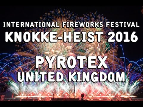 Int. Fireworks Festival Knokke-Heist 2016: Pyrotex - United Kingdom - Vuurwerk