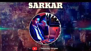Sarkar first look bgm