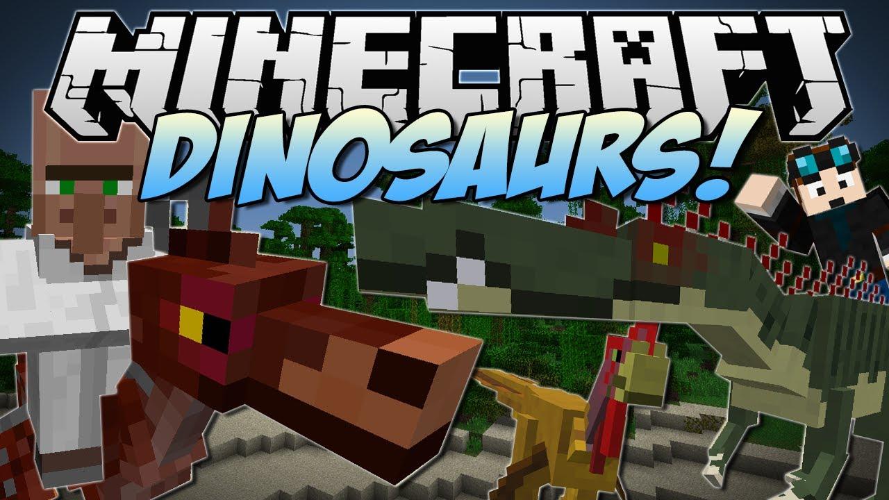 Скачать майнкрафт лаунчер с модом на динозавров