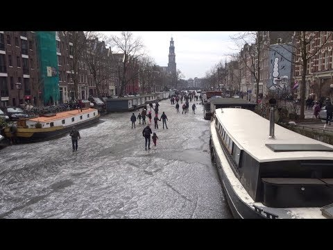 Ice skating in Amsterdam - A 49 hour journey