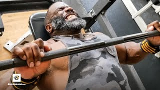 Real & RAW Chest Training   IFBB Pro Johnnie O. Jackson