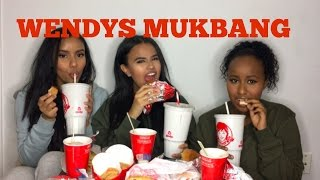WENDY'S MUKBANG | GIRL CHAT (TWINS, PLASTIC SURGERY, YOUTUBE A REAL JOB?!)