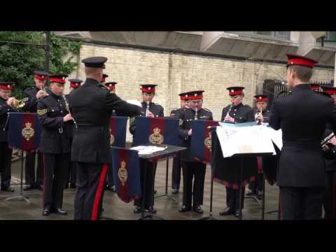 The British Army Band of the Grenadier Guards Playing Jai Ho & DON music