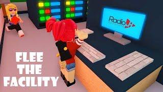 FLEE THE FACILTY Roblox Gameplay | RadioJH Games