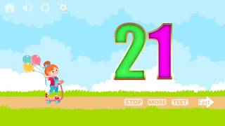 Learn Numbers 1 to 100 Game for Kids with 1 to 100 number counting educational games for kids