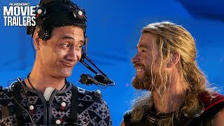 THOR: RAGNAROK | Funny Behind The Scenes Moments with Taika Waititi