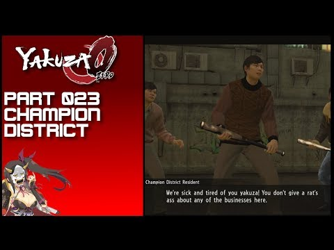 Yakuza 0 #023 Champion District
