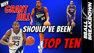 Why Hall Of Famer Grant Hill Missed Being TOP 10 of All Time