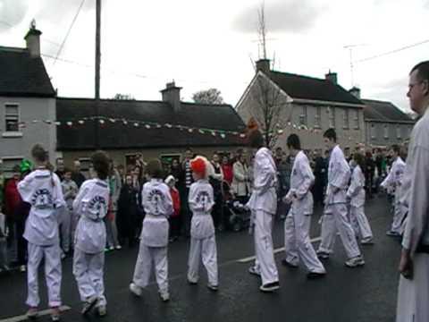 Midlands Taekwon-Do at St. Patricks day parade Clonmellon 17-3-2012
