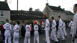 Midlands Taekwon-Do at St. Patricks day parade Clonmellon 17-3-2012