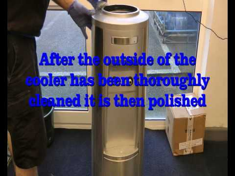 Water Cooler Sanitisation at Elite Office Supplies Guernsey
