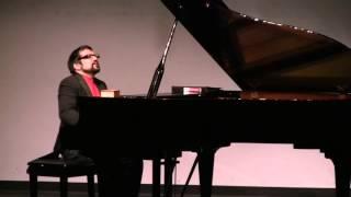 Guarneri   Dansa Negra for piano solo    Carlos Rodriguez piano
