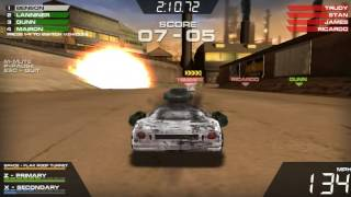 Burnin Rubber 5 - Equipo GT Blaze,Sunstorm,Miyamoto,Petite XS VS Equipo Vice