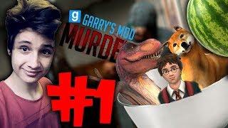 Garry's Mod Murder #1 Sałatka Morizeta! (z: Bladii, Schreder, Morizet, Sanitariusz i Amongo)