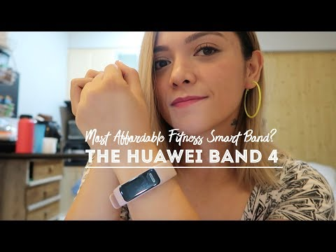 The Huawei Band 4: The Most AFFORDABLE Fitness Smart Band Available In The Market!