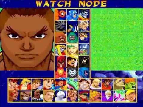 Mugen Marvel Super Heroes VS Street Fighter - YouTube