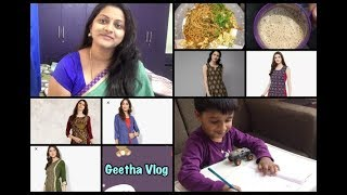 Thursday Vlog #Coffee , Egg Noodles | Myntra & Jabong Haul | How to give Vegetables to Kids |