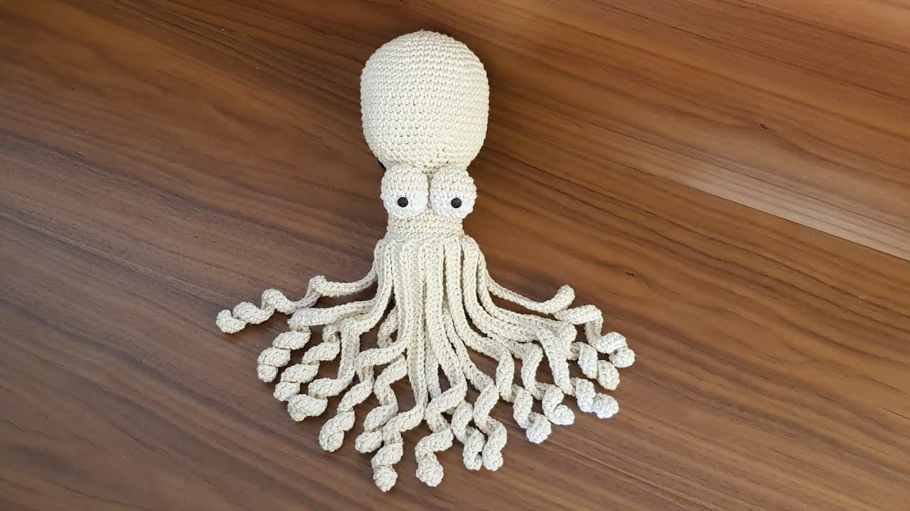 Crochet Amigurumi Octopus Tutorial