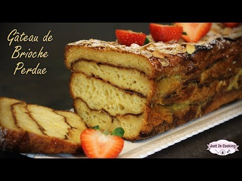 recette-de-gâteau-de-brioche-perdue