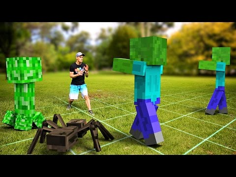Download Youtube: Minecraft In Real Life | Future Gaming