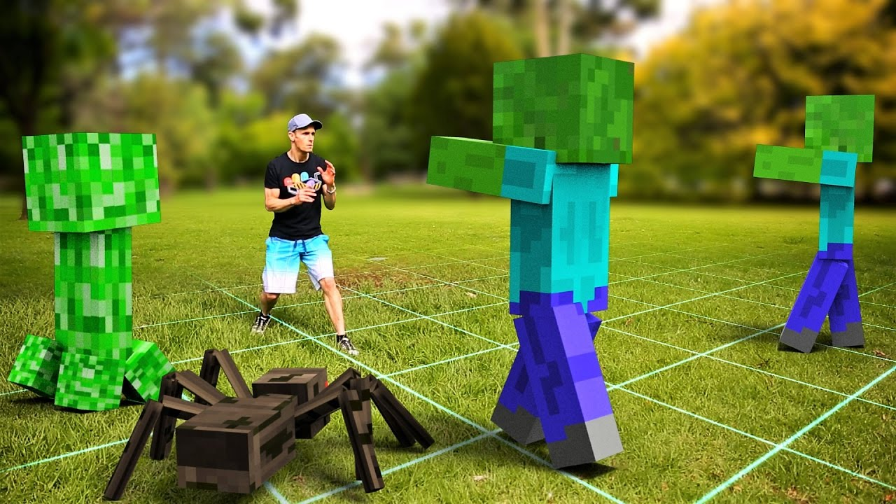 Minecraft In Real Life | Future Gaming