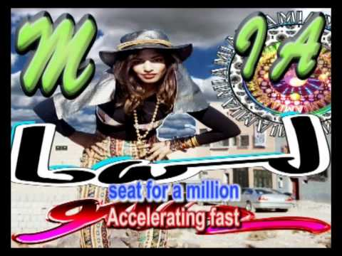 M.I.A. - Bad Girls Karaoke/Lyrics