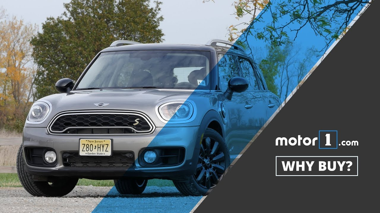 Why Buy 2018 Mini Cooper S E Countryman Review Youtube