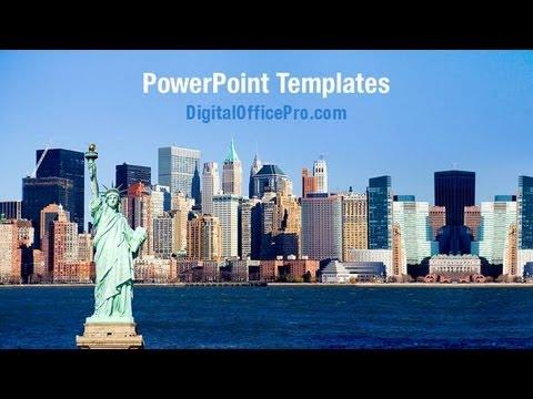 New york harbor view powerpoint template backgrounds new york harbor view powerpoint template backgrounds digitalofficepro 07160w toneelgroepblik Images
