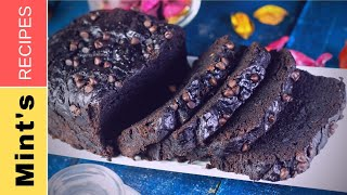 Double Chocolate Banana Cake | Cake Recipes in Hindi in Pressure Cooker