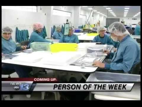 George Marshall WLOS Person of the Week