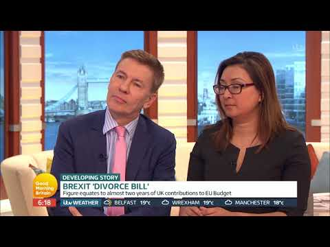 Brexit 'Divorce Bill' Debate | Good Morning Britain