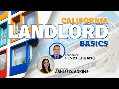 Webinar Replay: California Landlord Law Basics