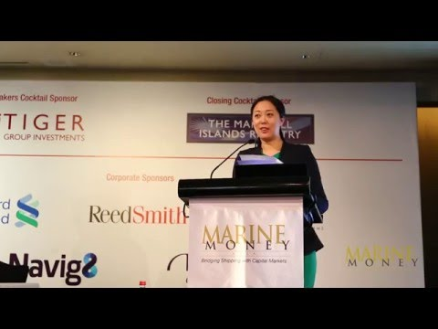 Sabrina Chao, Keynote Address – 9th Annual Marine Money Hong Kong Ship Finance Forum