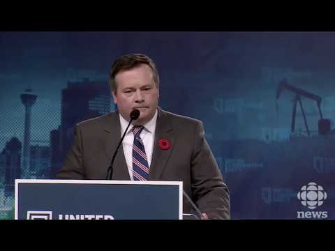 United Conservative Party of Alberta announces Leader, Jason Kenney speaks