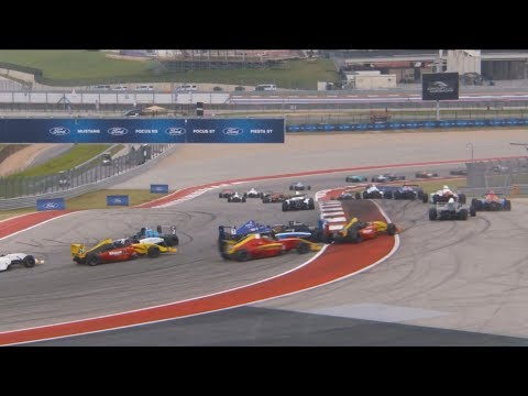 Formula 4 United States Championship 2017. Circuit of the Americas. Crashes & Fails