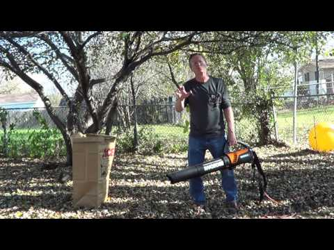 Leaf Blower - How to Use a Leaf Blower