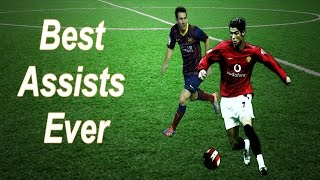 Cristiano ronaldo vs lionel messi ● best assists ever | hd