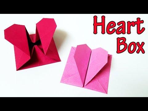 Origami Heart Box (Tutorial)