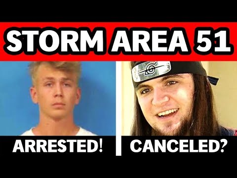YouTubers ARRESTED For Storming Area 51 & MAJOR Storm Area 51 Update: Alienstock Event ESCALATES!