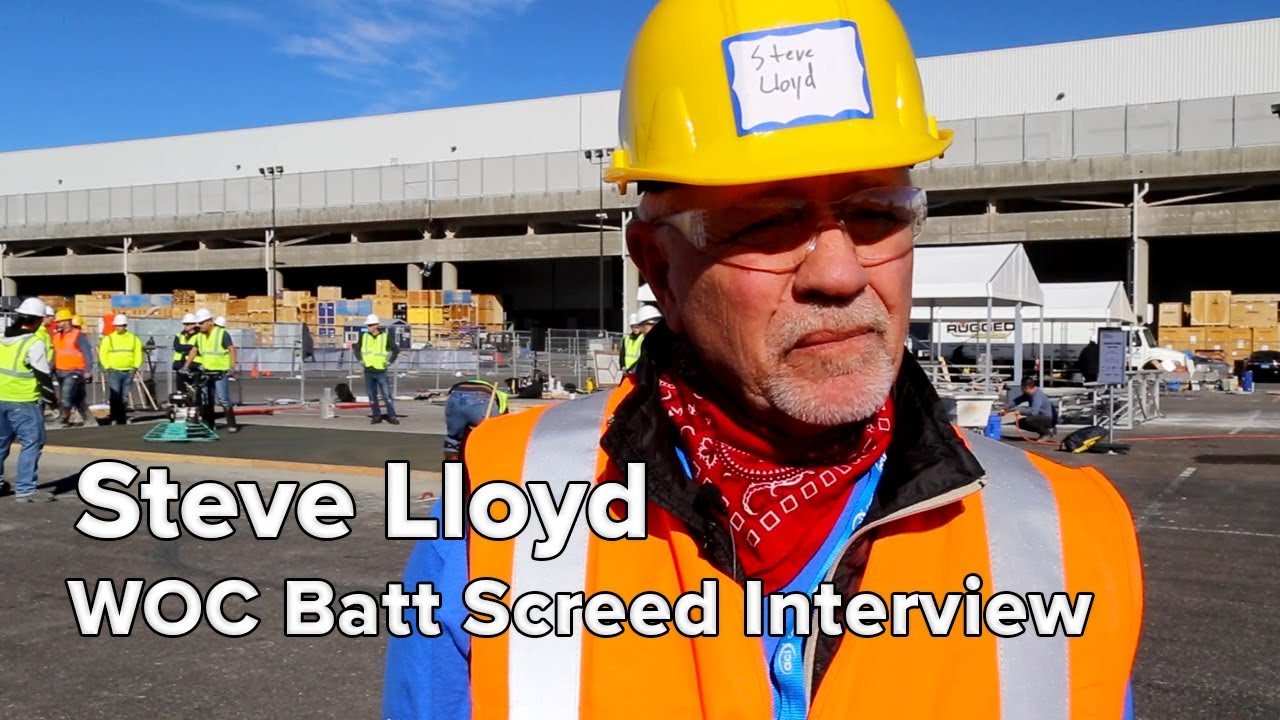 How the Batt Screed Impressed an Industry Veteran