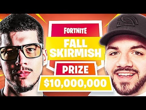 Fortnite Official $10,000,000 Fall Skirmish Tournament!!