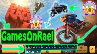 Bike Race Pro Completing 3 New ROOMS Amazing Games + TIPS & SKILLS With GamesOnRael