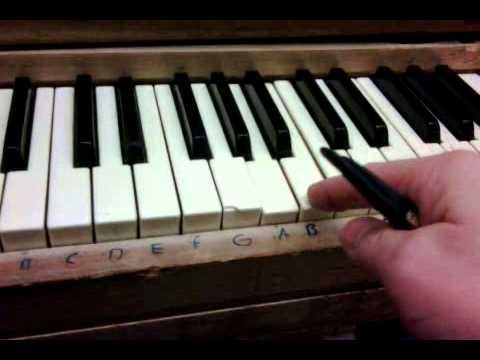 Stuck piano key - easy fix - https://twitter.com/RonKoval