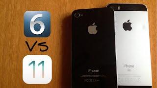 IPhone 4s (iOS 6) vs iPhone SE (iOS 11) - Speed test