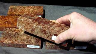 Dark Maple Burl