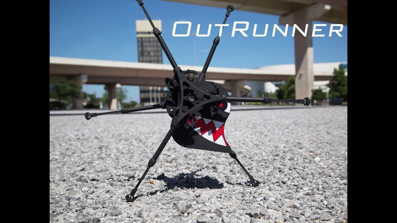 Meet OutRunner: The World's First Remotely Controlled Running Robot
